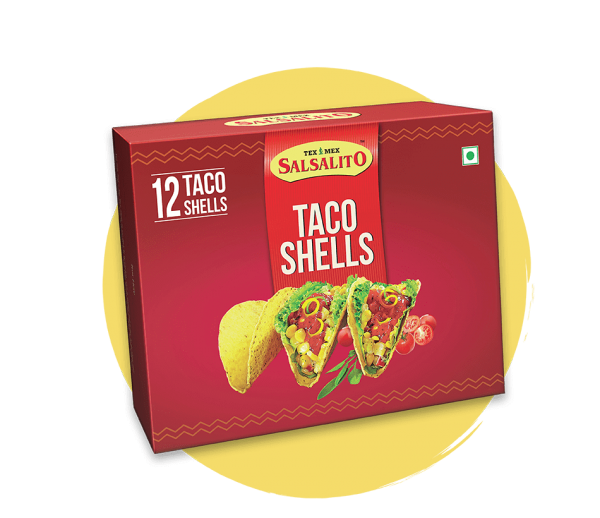 Salsalito Taco Shells, 12 taco shells